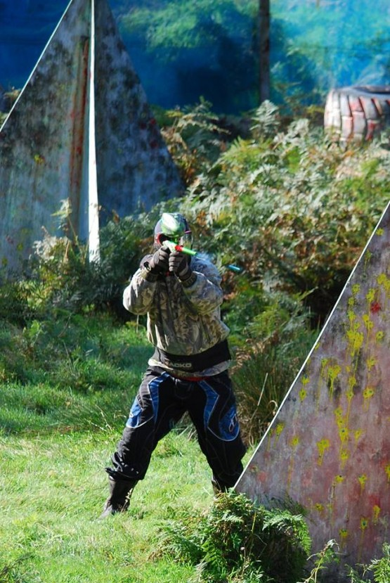 Paintball Village Action