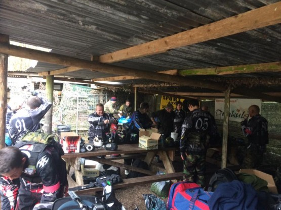 Paintball walk-on breaktime