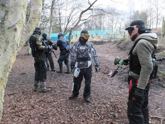 Paintball Walk-on