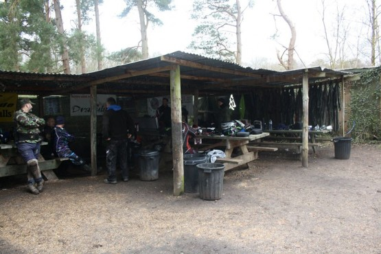 Paintball Lunch