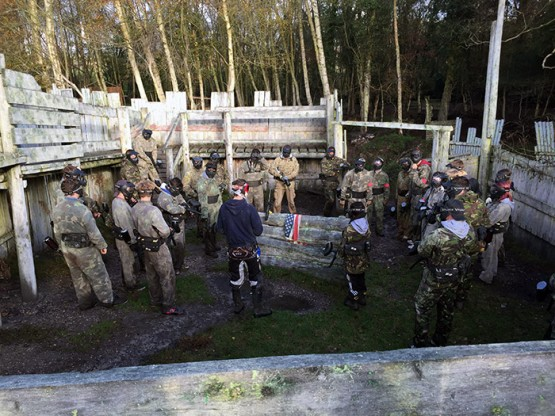 paintball fort briefing