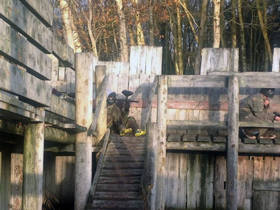 Paintball fort guard